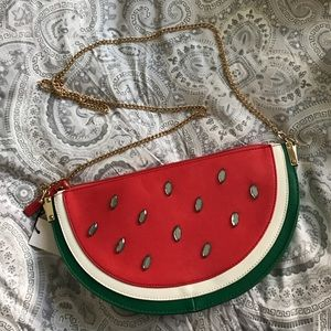 🍉Watermelon cross body purse clutch chain bag